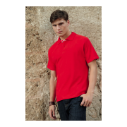 Fruit of the Loom Polo, 35% Baumwolle - 65 % Polyester...